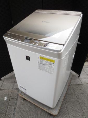 シャープ 洗濯乾燥機 9.0kg ES-PX9B-N 2018年製