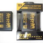 バートル エアークラフト バッテリー AC210 新品、中古品 2個セット