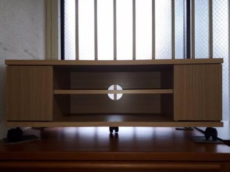 組み立て家具2点 テレビ台・レンジラック