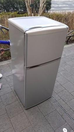 AQUA 109L 冷蔵庫 AQR-111C 2014年製