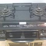ガステーブル(都市ガス用) 東京ガス RTS-M660VCTS-TR 2012年製