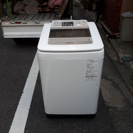 洗濯機 8.0K パナソニック 2015年 NA-FA80H1