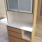キッチンボード (レンジボード) 幅:100cm 高さ:195cm