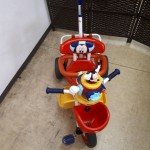 ミッキーマウス ポップンカーゴ三輪車