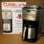 未使用 Cuisinart オートマチックコーヒーメーカー●DGB-900PCJ2