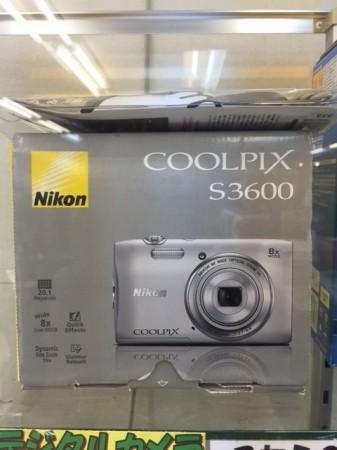 デジカメ Nikon COOLPIX 2005万画素 S3600