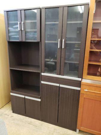 レンジラック 食器棚 セット(組み立て家具)