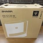 未使用 シャープ 加湿セラミックファンヒーター HX-G120 2017年製