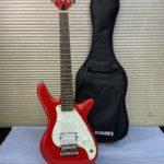 BUSKER'S ミニギター KGS1 赤