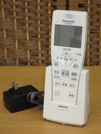 パナソニック ワイヤレスモニター子機 VL-W607