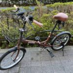 20インチ 折り畳み自転車 3段変速