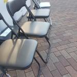 パイプ椅子4脚