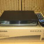 美品 東芝 HDDレコーダー D-4KWH209