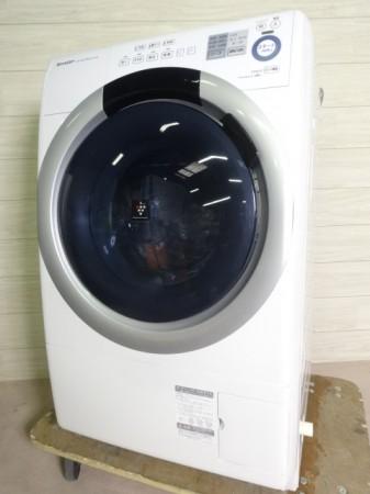 シャープ ドラム式洗濯機 ES-S7A-WL 2016年製