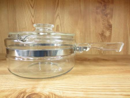 オールド パイレックス OLD PYREX ガラス 片手鍋 フレームウェア