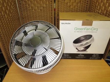 バルミューダ GreenFan Cirq EGF-3300-WK