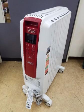 デロンギ ドラゴンデジタル スマート オイルヒーター QSD0915-RD