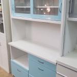 レンジボード(キッチンボード) ブルー