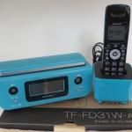 パイオニア デジタルコードレスホン TF-FD31W