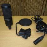 audio-technica コンデンサー型マイク AT2035