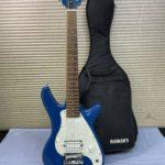BUSKER'S ミニギター KGS1 青