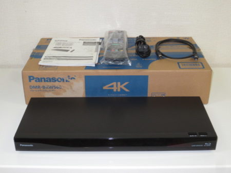 Panasonic ブルーレイディスクレコーダー DMR-BRW560