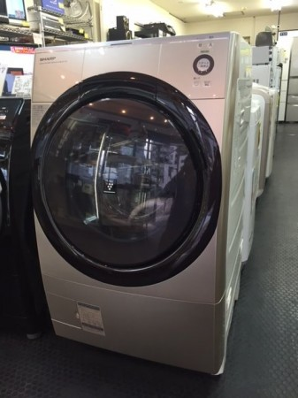 9.0Kドラム洗濯機 シャープ 2013年製 ES-Z110