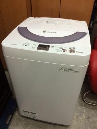 洗濯機 シャープ 2014年製 5.5K ES-GE55K