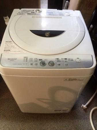 シャープ 単身用洗濯機 4.5K 2012年製 ES-FG45L