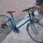 自転車 26インチ 6段変速 オートライト