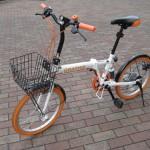 20インチ 折り畳み自転車 GRAPHISD