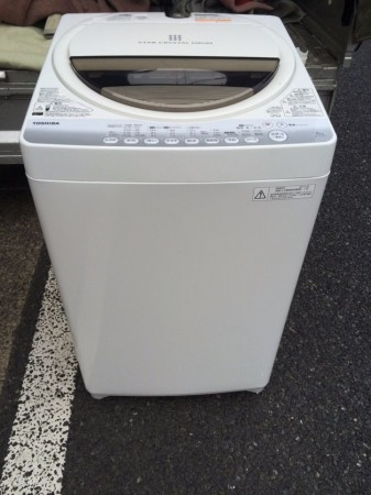 東芝 6.0K洗濯機 AW-60GM
