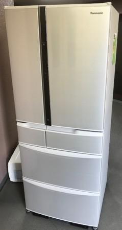 冷蔵庫 474L パナソニック NR-FVM470S 2015年製