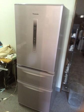 パナソニック 3ドア冷蔵庫 エコナビ 321L NR-C32CM
