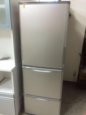 3ドア冷蔵庫 シャープ 2014年製 350L SJ-WA35A