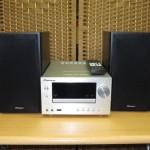 パイオニア CDミニコンポーネントシステム X-HM81-S