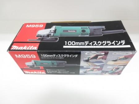 美品 makita マキタ M959 100mm ディスクグラインダ