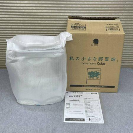 未使用 ユーイング 水耕栽培器 CUBE UH-CB01G1