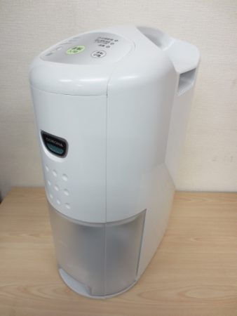 コロナ 除湿機 CD-P6318-W 部屋干し衣類乾燥 2018年製