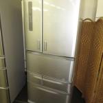 東芝 618L冷蔵庫 VEGETA GR-F62FX(XS) 2013年製