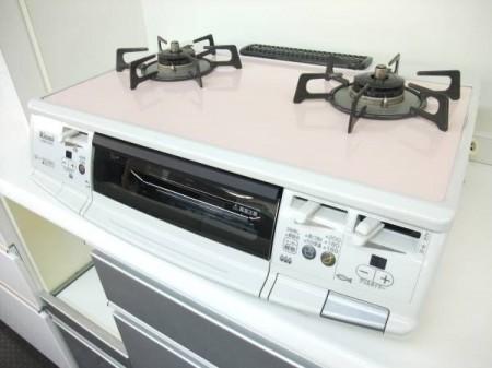 リンナイ 都市ガスコンロ RTS-S660VCTS-R サクラ 2010年製