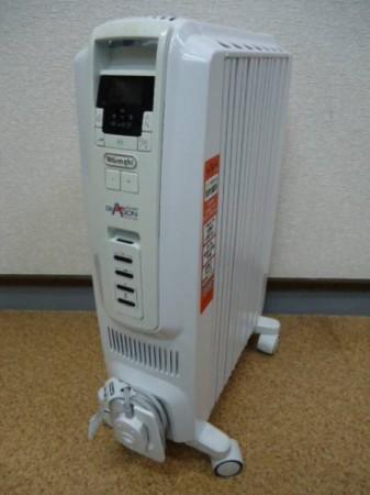 デロンギ オイルヒーター ドラゴンデジタル TDD0712W