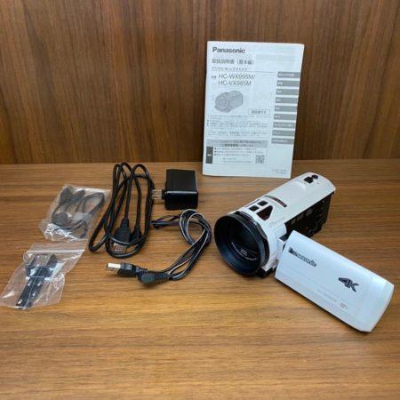 Panasonic パナソニック ビデオカメラ HC-VX985M 4K対応