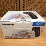 未使用 パナソニック デジタルムービーカメラ HX-DC3-W