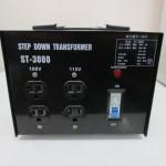 RILAND リランド ダウントランス ST-3000 降圧変圧器 動力電源200V