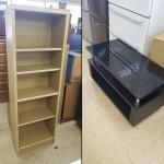 テレビボード・ウッドラック (組み立て家具2点)