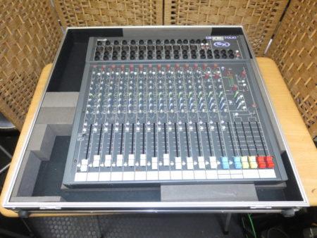 サウンドクラフト オーディオミキサー SPIRIT FOLIO SX