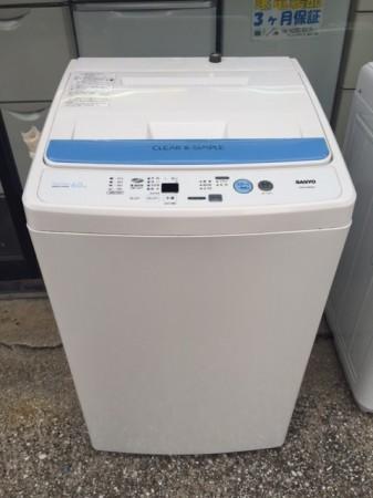 洗濯機 SANYO 2009年製 6.0K ASW-60B