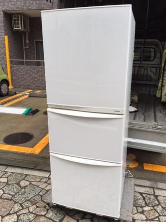 340L 3ドア冷蔵庫 GR-34ZY 東芝 2012年製