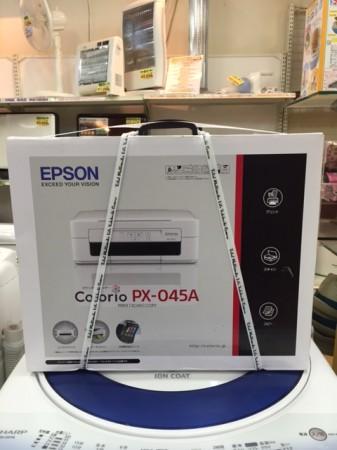 未使用 エプソン EPSON インクジェット複合機 PX-045A